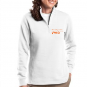 YWCA Ladies White Pullover